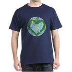 Recycle Earth (Heart) Dark T-Shirt