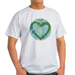 Recycle Earth (Heart) Light T-Shirt