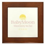 BabyMoon Mommy To Be 2008 Framed Tile
