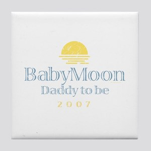 BabyMoon Daddy To Be 2007 Tile Coaster