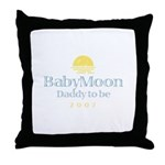 BabyMoon Daddy To Be 2007 Throw Pillow