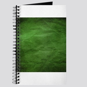 Green wrinkle paper texture Journal