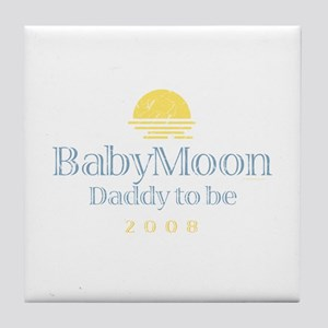 BabyMoon Daddy To Be 2008 Tile Coaster