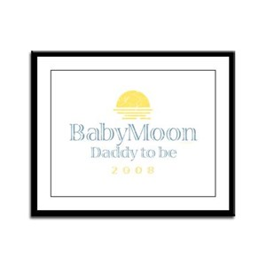 BabyMoon Daddy To Be 2008 Framed Panel Print