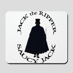 Saucy Jack Black Mousepad