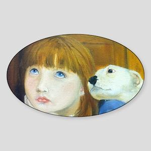 Companionship.  Sticker (Oval)