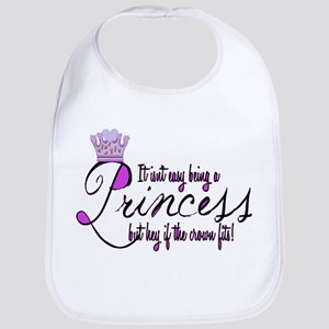 Princess, It isn't easy Bib