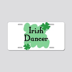 Irish Dancer Aluminum License Plate