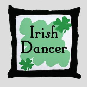 Irish Dancer Throw Pillow