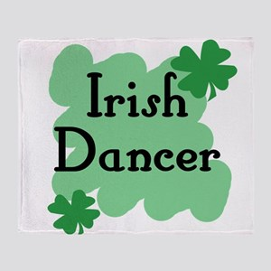 Irish Dancer Throw Blanket