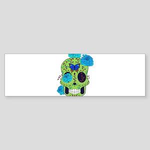 Best Seller Sugar Skull Bumper Sticker