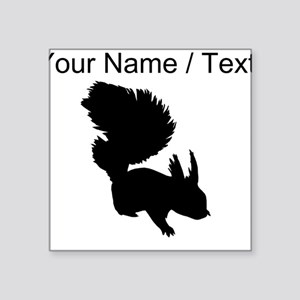 Custom Squirrel Silhouette Sticker