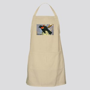 Red-Winged Blackbird Bird BBQ Apron