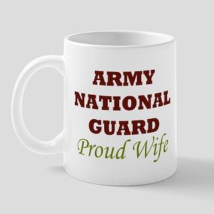National Guard Proud Wife Mug