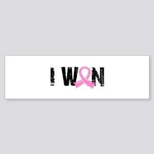 - I Won Breast Cancer... Bumper Sticker