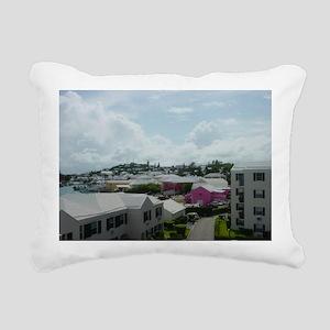 St Georges, Bermuda Rectangular Canvas Pillow