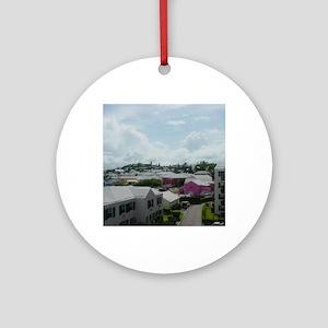 St Georges, Bermuda Round Ornament