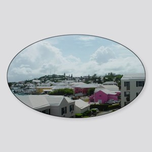 St Georges, Bermuda Sticker (Oval)