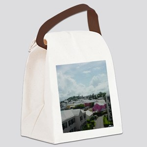 St Georges, Bermuda Canvas Lunch Bag