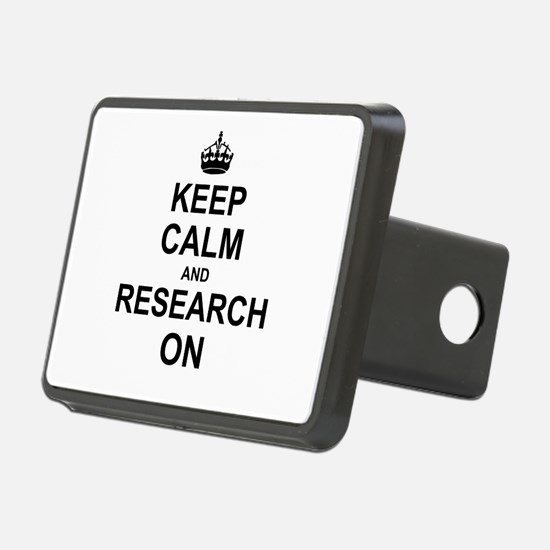 Keep Calm and Research on Hitch Cover