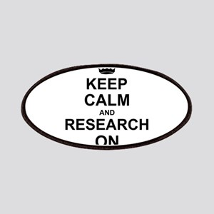 Keep Calm and Research on Patches