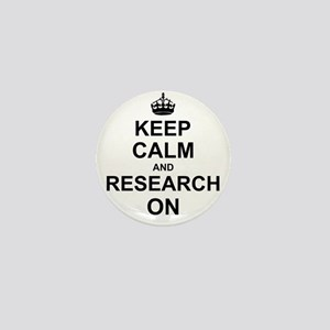 Keep Calm and Research on Mini Button