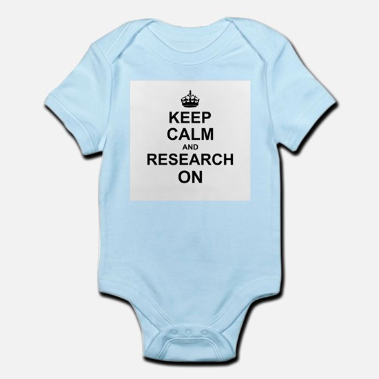 Keep Calm and Research on Body Suit