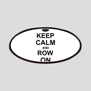 Keep Calm and Row on Patches