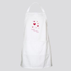 Happy Valentines Day Hearts Apron