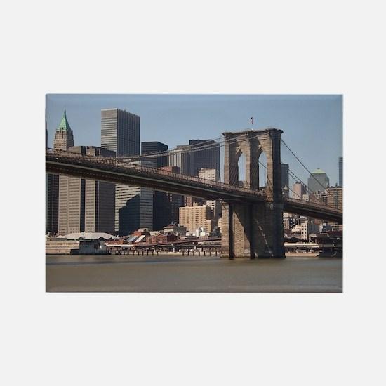 Brooklyn Bridge Rectangle Magnet