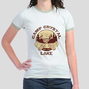 Camp Crystal Lake Jr. Ringer T-Shirt