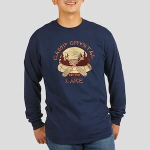 Camp Crystal Lake Long Sleeve Dark T-Shirt