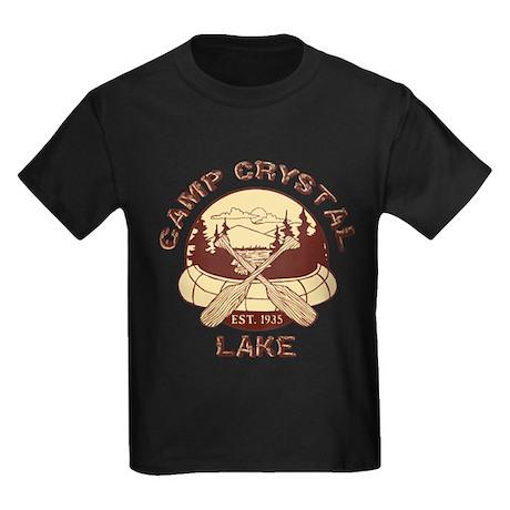 Camp Crystal Lake Kids Dark T-Shirt
