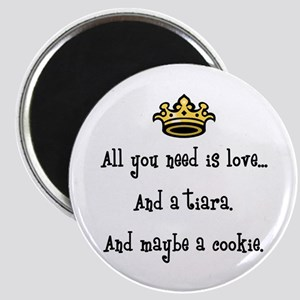 Love And A Cookie Magnet