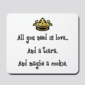 Love and a Cookie Mousepad