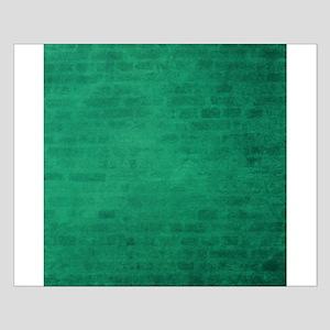 Green brick texture Posters