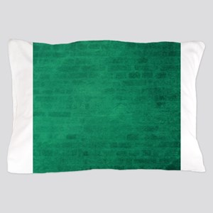Green brick texture Pillow Case