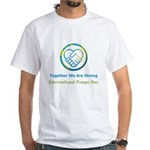 International Pompe Day Men's White White T-Shirt