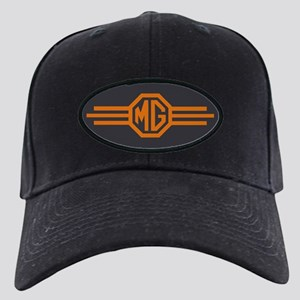 MG Bar Black Cap - Blaze Orange On Charcoal Black