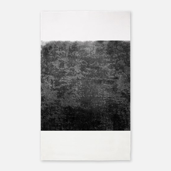 Slate fabric texture 3'x5' Area Rug