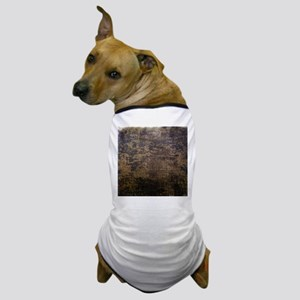 Rusted fabric texture Dog T-Shirt