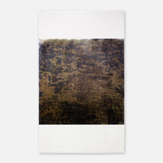 Rusted fabric texture 3'x5' Area Rug