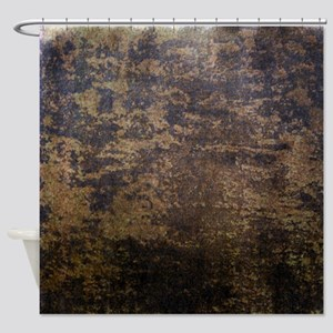 Rusted fabric texture Shower Curtain