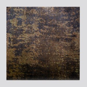Rusted fabric texture Tile Coaster
