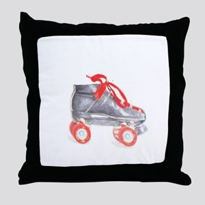Skate copy Throw Pillow