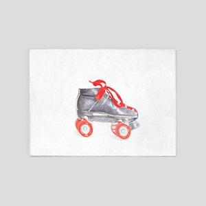 Skate copy 5'x7'Area Rug