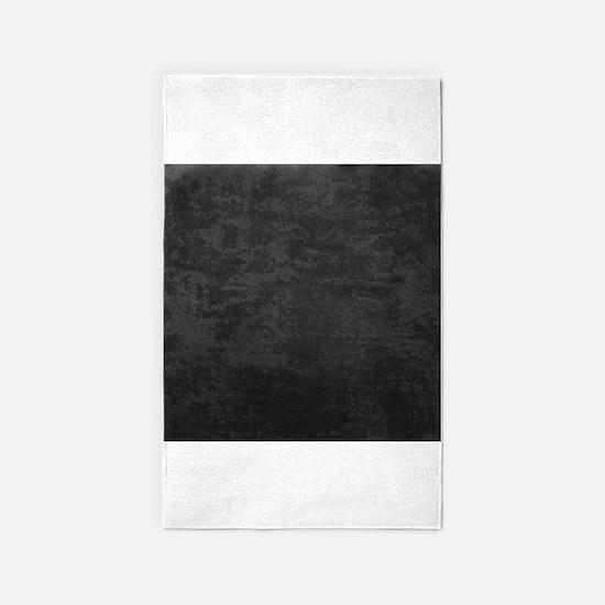 Grey fabric texture 3'x5' Area Rug