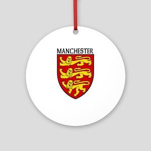 Manchester, England Ornament (Round)