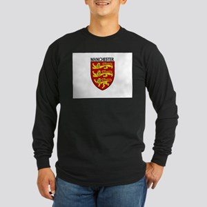 Manchester, England Long Sleeve Dark T-Shirt