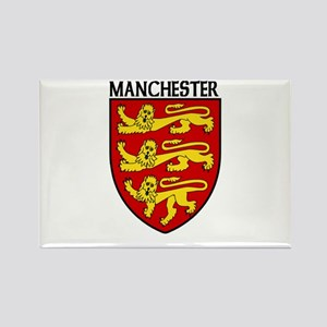 Manchester, England Rectangle Magnet